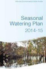 Seasonal Watering Plan 2014-15
