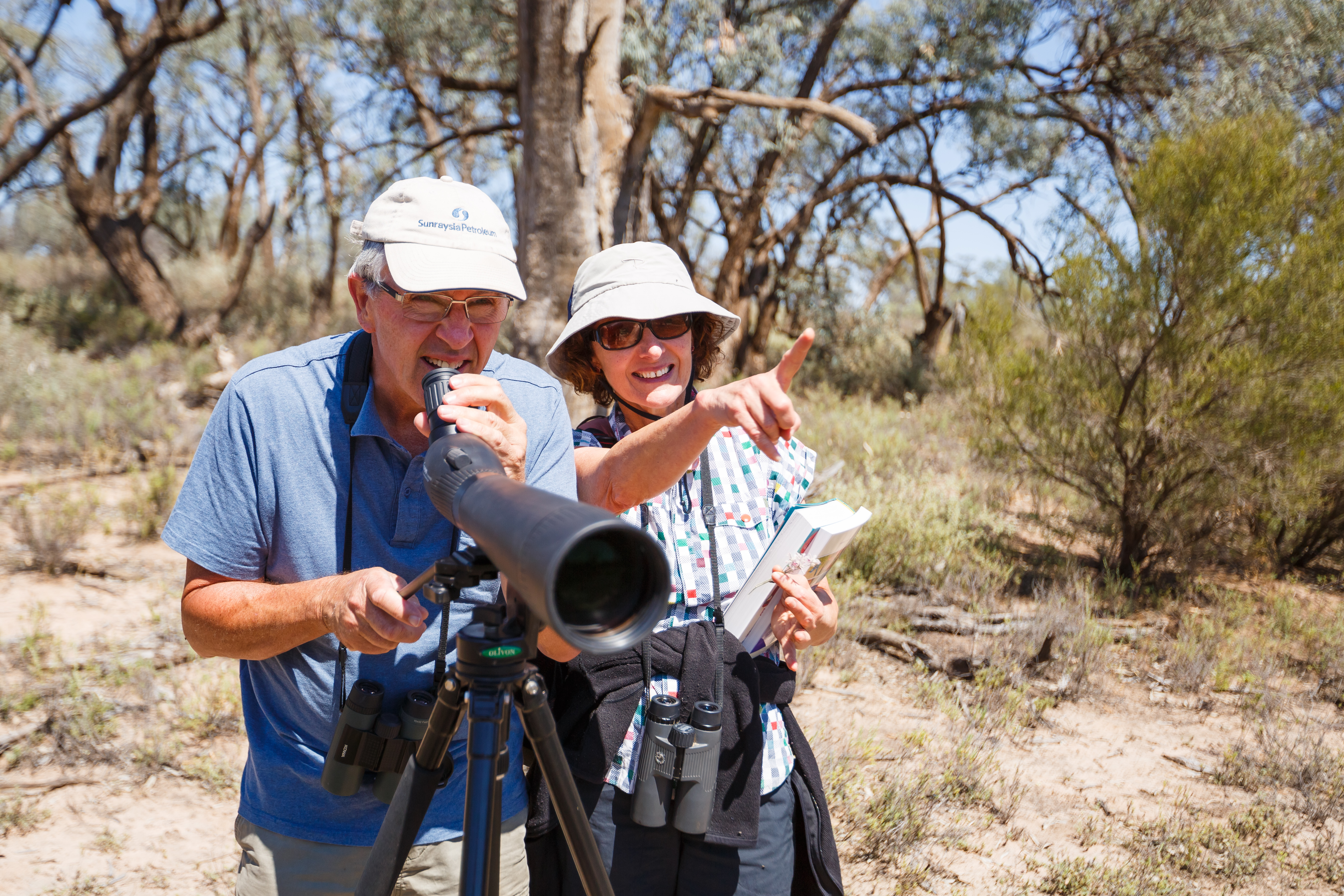 Birdwatching at Lake Powell, by Mallee CMA