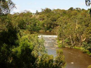 Yarra River at Dights Falls, Abbotsford, by Melbourne Water